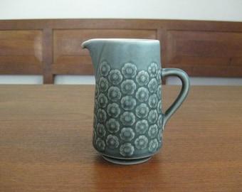 Quistgaard - AZUR blue - Creamer - Kronjyden - Danish Pottery - Mid Century Modern