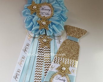 Star Baby Shower Mommy to be Corsage/Twinkle Star Baby Shower Mommy to be Pin/Boy Baby Shower Mommy to be Corsage/Girl Mommy Pin