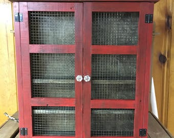 Herb cabinet or essential oil cabinet