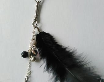 "Keychain ""Swan 14 lace"""