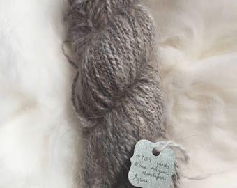 Pure Handspun Angora Yarn ( Blend of Chestnut, Sable, and Choc. Chestnut) 109 yds, 38g