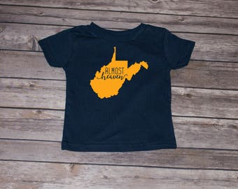 Almost Heaven West Virginia inspired Youth Tee