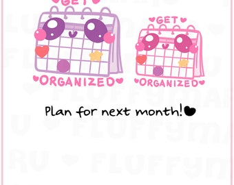 Plan Schedule    Planner Stickers, Cute Stickers for Erin Condren (ECLP), Filofax, Kikki K, Etc.    DFS158