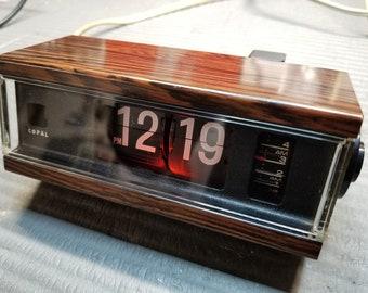 Fully Refurbished Vintage 1975 Copal 227 Flip Clock