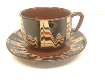 Free Shipping Mochaware Cup and Saucer