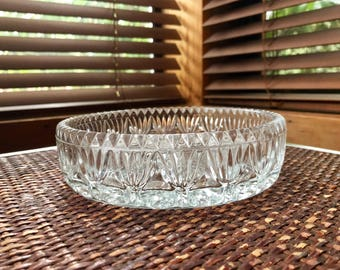 Lovely Crystal Candy Dish, Crystal Condiment Bowl