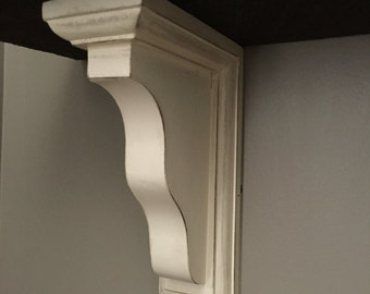 Distressed Corbels (pair), farmhouse decor