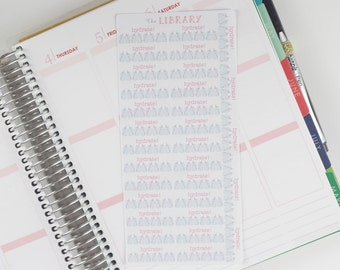 31 Pink Mason Jar Hydrate planner stickers, Perfect for Erin Condren, Happy planner, Inkwell Press