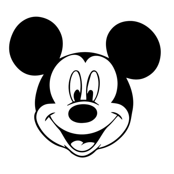 Mickey Mouse Svgwalt Disney Eps Mickey Mouse