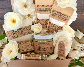 gift basket for mother, gift for her, pamper gift for wife, self care Spa Kit, gift for women, new mom gift