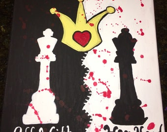 Queen Of Hearts Painting