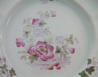 "Staffordshire Calyxware ""Metz"" Pattern - Set of 8"
