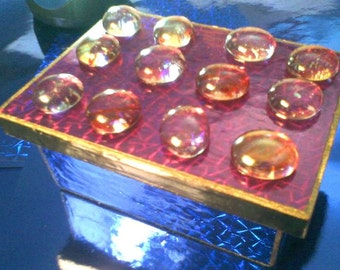 Purple Hues Foil Holographic Jewelry Box