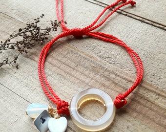 Heart to heart - breastfeeding - bracelets