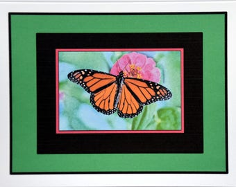 Abstract Watercolor Butterflies - Notecards