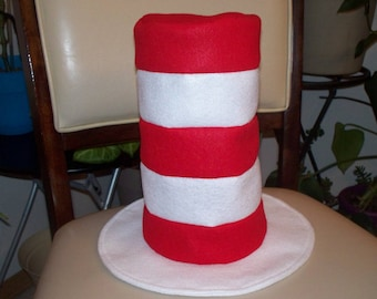 Baby Cat in the hat style hat