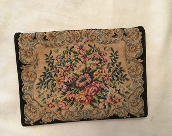 Vintage Austrian Petit Point Purse
