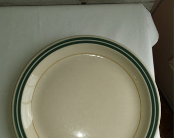 """Vintage 1940s Southern Railway System Dining Car 9 3/4"""" Plate. Piedmont Pattern. No surface damage. Nicely used cond. Ye Olde Ivory China."""