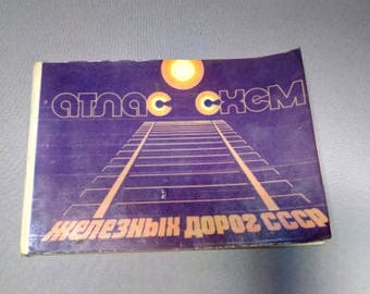 Vintage, Atlas of Circuits, USSR Railways, 1979.