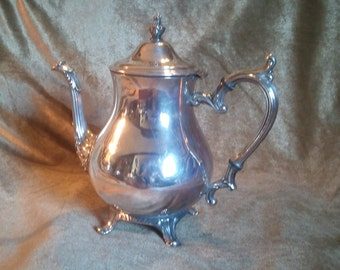 William Rogers 800 Silver Teapot 'Prelude'