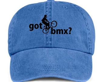 GOT BMX? Outdoor Riding Racing Sport Baseball Style Cap Hat
