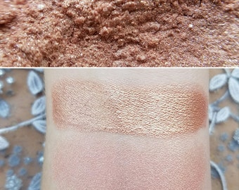 Whisper - Rose-Gold, Mineral Eyeshadow, Mineral Makeup, Highlighter, Vegan