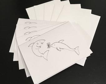 Sharky valentine-5 pack