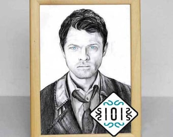 Castiel HIGH / Supernatural / Sobrenatural / Angel Winchester