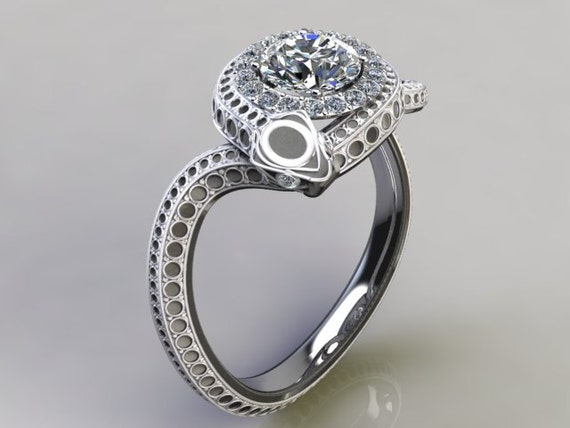 etsy wedding rings items similar to snake engagement ring on etsy 3942