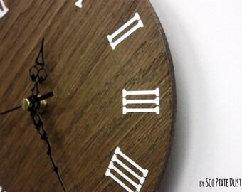 Simply Wood Circle Wall Clock