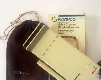 Norelco Travel Fabric Steamer & Wrinkle Remover (1986)