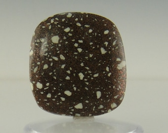 Large Copper Firebrick Loose Cabochon- 26x28x5- 41.58 ct.