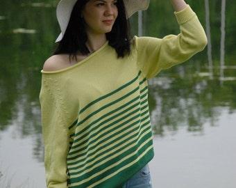"""Pullover """"RITA"""" aus 100% Baumwolle"""