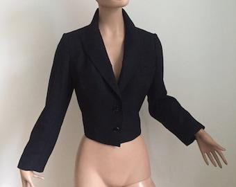 Azzedine Alaïa, 90s wool blazer