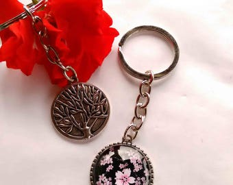 Pretty Keychain with 25 mm cabochon