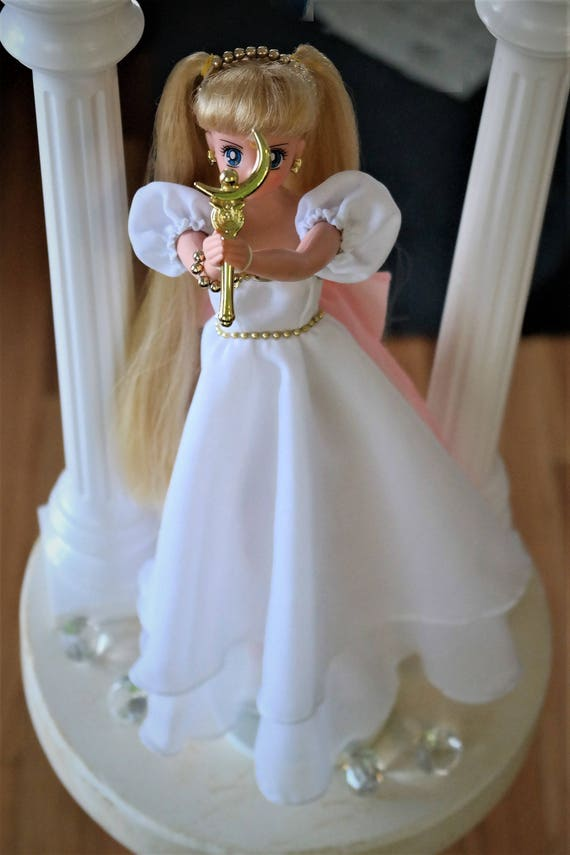Sailor Moon Doll Princess Serenity Serena Dress OOAK Custom.