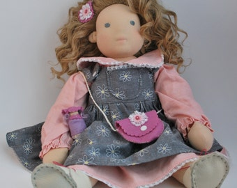 "Waldorf-inspired 20"" doll - Anouk"