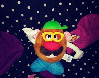 Late 90s Mr Potato Head plush 7 inches Only ever pay to ship 1 item we cover the rest stock up and save! vintage toys
