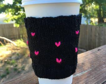 Floating Hearts Mug Sweater