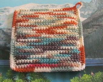 UHP 016 Upcycle hand crochet hot pad
