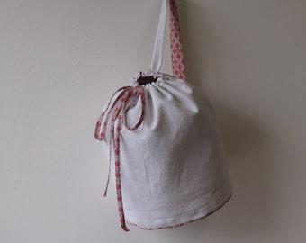 Pink bag, shoulder bag, pouch, white