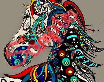 Shay's Horse Digital Wall Art