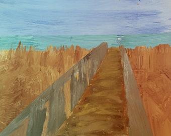 Peaceful Beachwalk