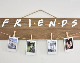 Friends Television Show Picture/Polaroid Hanging Board