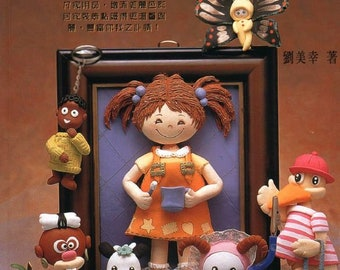 "50 CLAY AMIGURUMI PATTERN-""Diy Clay Amigurumi""-Japanese Craft E-Book # 476.Instant Download Pdf file."