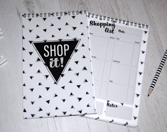 SHOP IT - Shopping list notebook