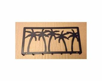 Palm Key Rack with 7 Hooks