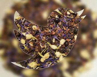 Jasmine - Spice tea, Loose Leaf Tea, Herbal Tea, Girl Power, Disney Inspired, Pu'erh Tea, Cornflower, Clove, Cinnamon, Juniper Berry