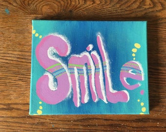 Colourful Smile Painting