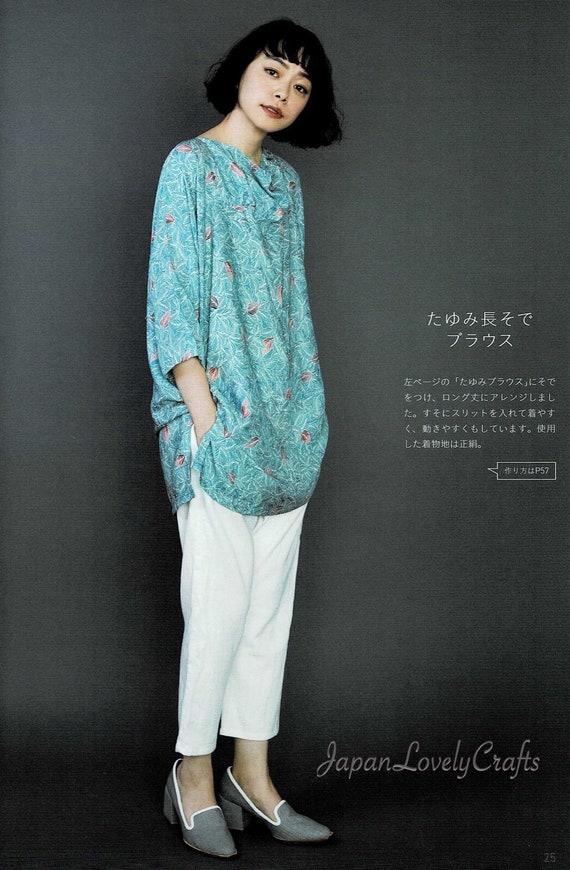 Kimono Remake Kleid Muster japanische Schnittmuster Buch für